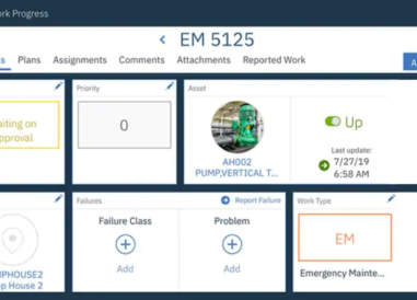 IBM Maximo Work Order
